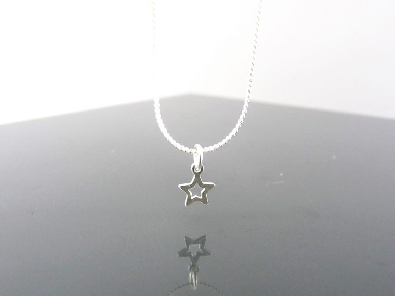 Colgante símbolo Plata pequeño
