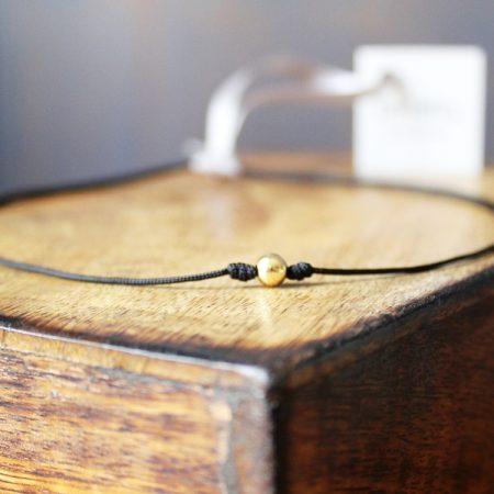 Gargantilla Round Oro cordón