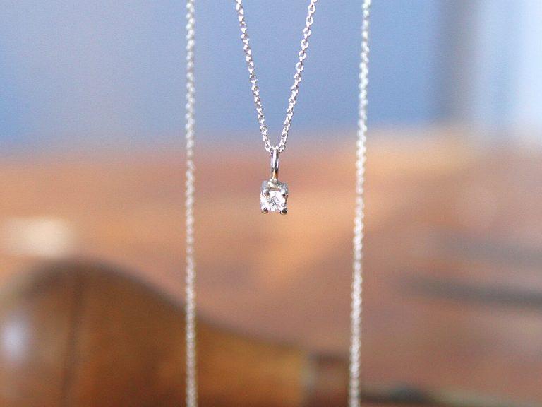 Colgante Juliette Oro y Diamante