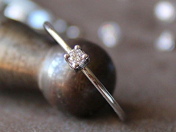Anillo Juliette Oro y Diamante