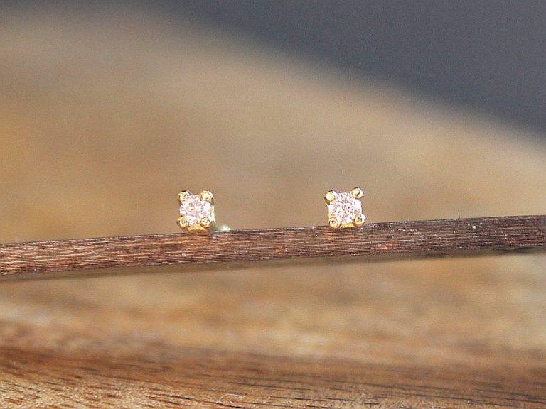 Pendiente Juliette Oro Am. y Diamante
