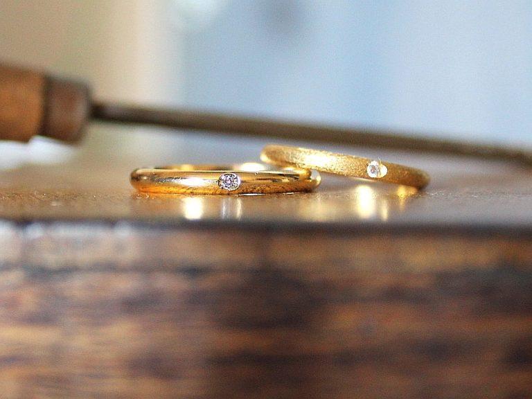 Alianza Nain Oro amarillo y Diamante