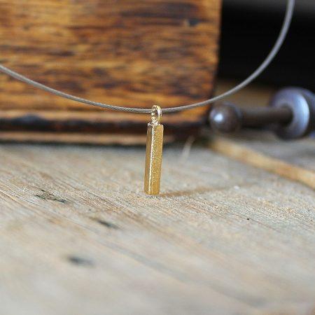 Colgante Rusk pequeño Oro Vermeil